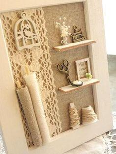 Maison de Poupées Hanging Board = Boutons