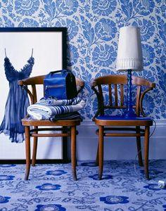 Purple Area: Inspiration - blått