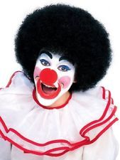 Black Afro Clown Wig / Adult Size / Halloween / Carnival