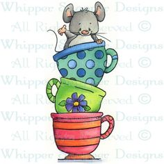 Stacked Teacup Mouse