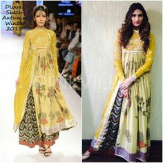 Yay or Nay : Athiya Shetty in Divya Sheth Indian Attire, Indian Wear, Indian Dresses, Indian Outfits, Indian Clothes, Athiya Shetty, Kurta Designs, Blouse Designs, Couture Collection