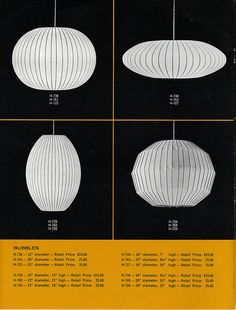 1964 HM Lighting by George Nelson: page 4 - Bubbles | Flickr - Photo Sharing!