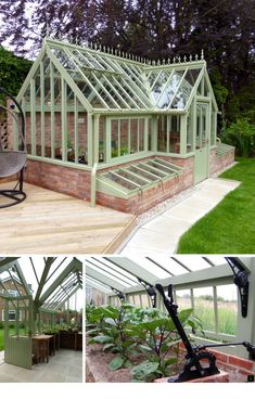Vegetable Gardening for Beginners – Love the small greenhouse on the side of the greenhouse itself. - Vegetable Gardening for Beginners - Love the small greenhouse on the side of th. Diy Greenhouse Plans, Home Greenhouse, Greenhouse Gardening, Greenhouse Wedding, Homemade Greenhouse, Cheap Greenhouse, Portable Greenhouse, Diy Small Greenhouse, Greenhouse Pictures