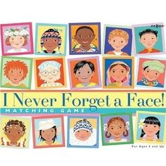 I Never Forget a Face! Memory Game - This fun matching game challenges children while educating them about the different countries in the world and their diverse cultures. pre k and 2 and Thinking Day, We Are The World, Memory Games, Matching Games, Activity Games, Games For Kids, Cool Toys, Card Games, Holiday Gifts