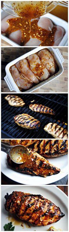 Grilled Honey Mustard Chicken | Nosh-up