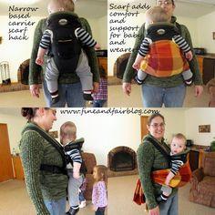 ¿ Se Puede hacerergonómicoa un portabebé que no esergonómico? Muy a menudo, veo estas fotos circulando por las redes en respuesta a una foto de madres usando un portabebé NO ergonómico. La mayo…