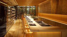 I love this counter. Looks even better in person. Hyatt Regency Kyoto restaurant.
