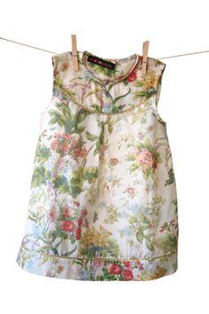 Chintz print dress