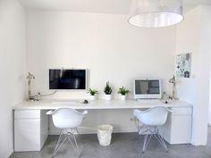 study space - New Deko Sites Home Office Storage, Home Office Design, Home Office Decor, Workspace Inspiration, Home Desk, Interior Design Living Room, Study Space, Space Space, Workspaces