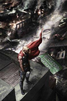 Thor: O Deus do Trovão em Bem Vindo a Broxton, Vizinhos de Deuses.