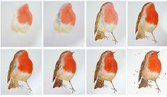 акварель рисунки птиц: 18 тыс изображений найдено в Яндекс.Картинках