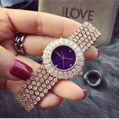 At @fashion_gq. Chanel diamonds time piece