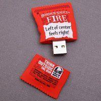 Taco Bell Hot Sauce USB