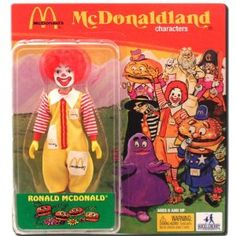 McDonalds McDonaldland - Ronald McDonald Action Figure