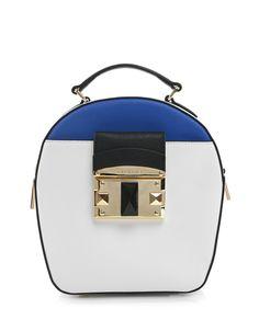 acbb1905f Kožená kabelka přes rameno Cromia #bilakabelka #crossbody