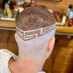 • Mome 17 Barbers • (@mome17_barbers) • Instagram photos and videos Slick Back Haircut, Fade Haircut, Hair Art, Men's Hair, High And Tight, Mens Hair Trends, Bald Fade, Bowl Cut, Comb Over
