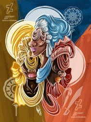 DeviantArt is the world's largest online social community for artists and art enthusiasts, allowing people to connect through the creation and sharing of art. African Mythology, African Goddess, Orisha, Santeria Spells, Sante Fe New Mexico, New Mexico Style, Cuban Art, Black Women Art, Female Art