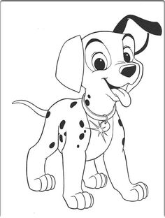 273 best 101 dalmatian coloring pages images on pinterest 101