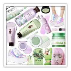 """""""Fresh Lilac Mint"""" by beanpod ❤ liked on Polyvore featuring beauty, Innisfree, Y.R.U., Etude House, peripera and nature republic"""
