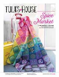 Spice Market Digital Quilt Pattern from QuiltandSewShop.com