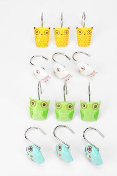 UrbanOutfitters.com > Owl Shower Ring - Set of 12