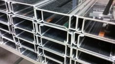 Folded stainless steel sections http://www.vandf.co.uk/folded-sheet-metal-work-3/