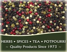 They offer Gourmet Spices, Herbs, Tea, Cat-Nip, Essential Oils, Potpourri, and more at Wholesale Prices!!
