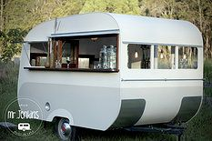 Vintage Caravan Mobile Bar - Hello Mr Jenkins
