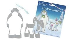 The Snowman and The Snowdog Cookie Cutter Set *** Check out the image by visiting the link.(This is an Amazon affiliate link and I receive a commission for the sales)