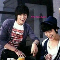 LMH junto a su amigo Kim Bum