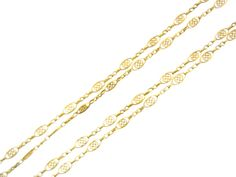 French Filigree Chain