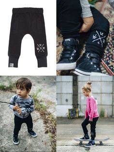 Six Hugs & Rock 'n Roll SWEATPANTS black