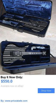 musical instruments: Schecter Synyster Gates Standard Electric Guitar-Black W/Custom Case BUY IT NOW ONLY: $550.0 #priceabatemusicalinstruments OR #priceabate