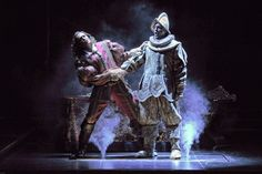 Don Giovanni and the statue of the Commendatore