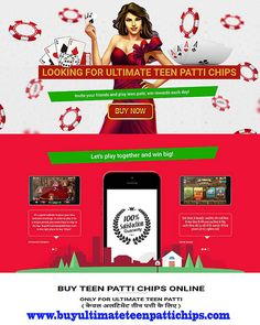 Tied of finding website from where you can buy ultimate teen patti chips? look no further, contact us now!