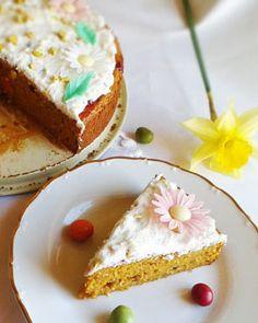 Zdravá mrkvová torta. Výborný fitness dezert.