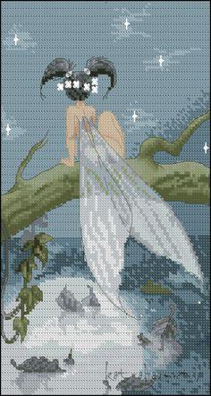 Sticken - cross stitch  - free pattern  -Gallery.ru / Фото #50 - For Lena Lawson - kot-obormot