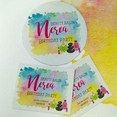 Papelería para cumpleaños #cumples #aniversary #fiestas #papelypapel #invitacionesonline