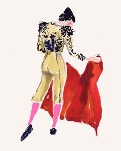 gold matador Edit: does anybody know whose work this is? It is fantastic.