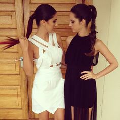 ♥ love both dresses - especially the black one