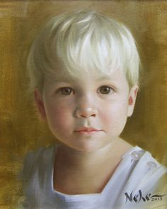 Brian Neher - Portrait of Young Boy