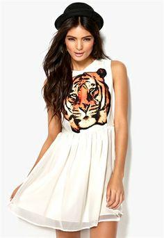 SALLY&CIRCLE Must Tiger Dress