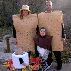 Family Halloween costumes.