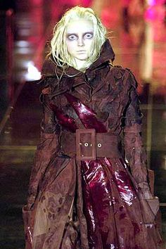 My favourite collection of all time! Spring 2006 collection by Galliano for Dior; vampiric models in French Rev inspired garb <3