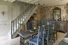 Wnętrza Zewnętrza - blog wnętrzarski: Dom Annie Sloan