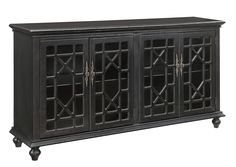Coast to Coast Accents Four Door Media/Credenza by Coast to Coast Imports