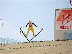 FIS Ski Jumping World Cup at the RusSki Gorki Jumping Center in Sochi