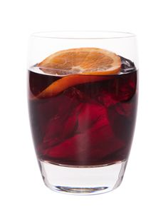 - RED IN RIO -  1½ oz. Leblon Cachaça 4 oz. red wine 2 orange slices 1 tsp. brown sugar  Muddle orange slices in a cocktail shaker. Add remaining ingredients and ice. Shake vigorously and strain into a glass.
