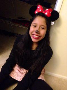 Halloween, my Minnie me.