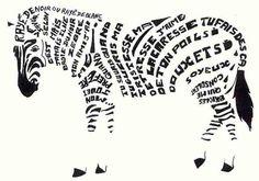 tipografies animals - Cerca amb Google
